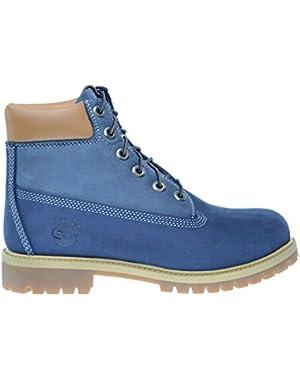 6Inch Premium Big Kids Waterproof Boots Blue/Light Blue tb0a14zd