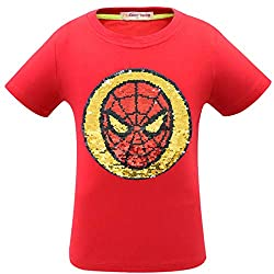 Superhero Flip Sequin T-Shirt