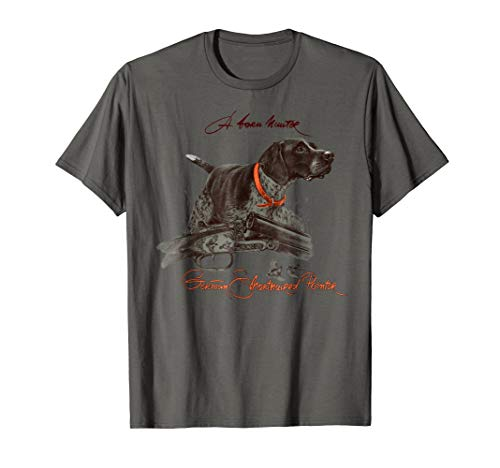German Shorthaired Pointer Shirt. A Born Hunter!