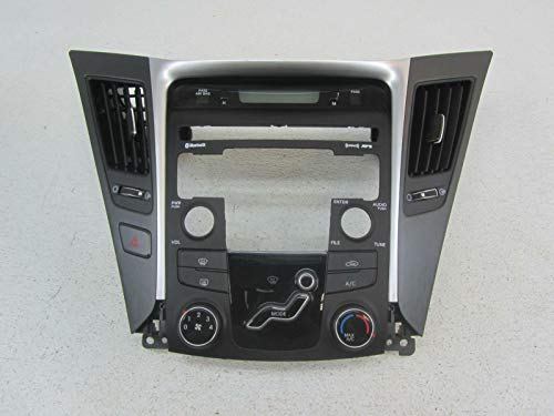 Morad Parts 11 Fits Hyundai Sonata Silver Black Heat AC Controller Panel Dash Bezel Trim Plate ()