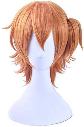 耐熱コスプレウィッグ 矢口恭介 ウィッグ かつら 高温耐熱 コスプレ cosplay wig オレンジ