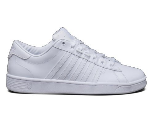 K-Swiss Women's Hoke CMF Casual Shoe, White/White, 6 M US
