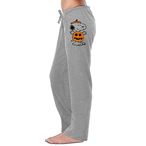 Mercy Halloween Snoopy Women's Pants L Ash]()