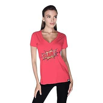 Cero Blam Retro T-Shirt For Women - S, Pink