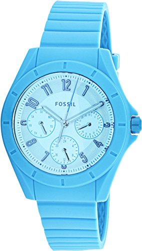 Fossil-Womens-ES4189-Poptastic-Sport-Multifunction-Blue-Silicone-Watch