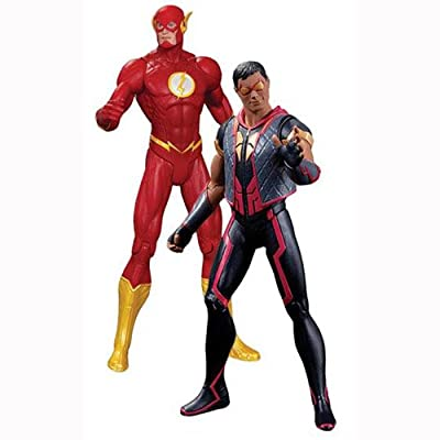 DC Collectibles DC Comics The New 52 The Flash vs. Vibe Action Figure, 2-Pack