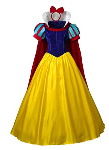 CosFantasy Princess Snow White Cosplay Costume Deluxe