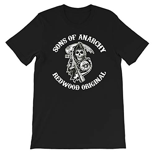 Sons of Anarchy Crime Tragedy Television Jax Teller Gemma Teller Morrow Gift Men Women Girls Unisex T-Shirt Sweatshirt (Black-2XL)