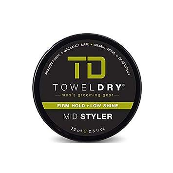 Towel Dry Mid Styler, Medium Hair, 2.5 oz Pack of 2