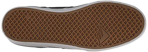 Emerica Provoost Slanke Vulc Skate Schoen Zwart / Grijs / Wit