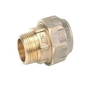 "Liqui Moly Pipe GmbH latón PE acoplamiento con AG 32mm 1"""