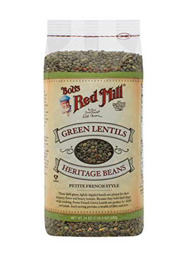 Bob's Red Mill Petite French Green Lentils, 24 Ounce
