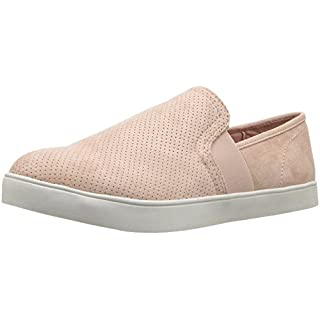 Dr. Scholl's Shoes Women's Luna Sneaker, Maple Sugar Blush Microfiber, 9.5