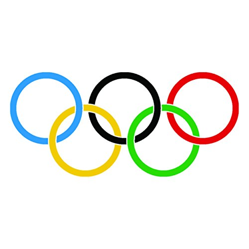 Olympic Rings Extra Large (10-pack) #1133]()