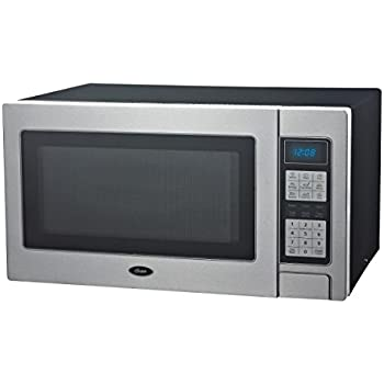 Amazon Com Oster 1 1 Cu Ft 1000 Watt Digital Microwave