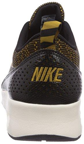 Nike Air Max Thea Jacquard - Zapatillas de running Mujer Marrón - Braun (Bronzine/Black-Sail 700)
