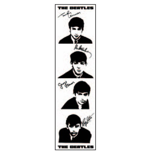 Beatles - Lesezeichen Signature (in One Size)