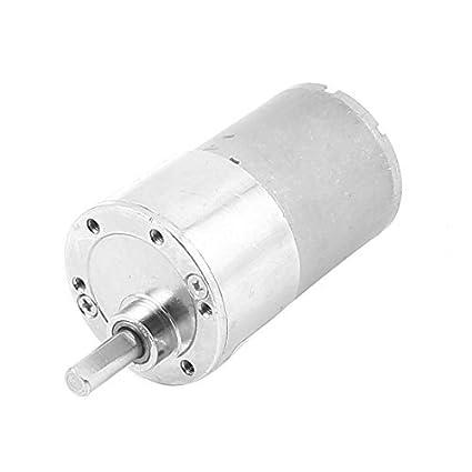 DC 12V 150 rpm 80mm Longitud reemplazo de par de engranajes magnéticos Motor Box - - Amazon.com