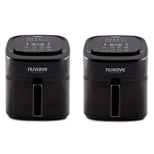 NuWave Brio 6 Quart Non Stick Digital Adjustable Temp Electr