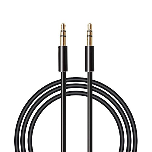 Aux Cable-MAONO AU601 6.6ft 2meters Male to Male 3.5mm Jack Audio Auxiliary Cord for Car, iPhone, Android, Smartphone, PC, Laptop, Speaker, MP3 Player, SL
