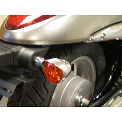 Turn Signal Visor Sets 2004 Suzuki VL1500 Intruder Street Motorcycle