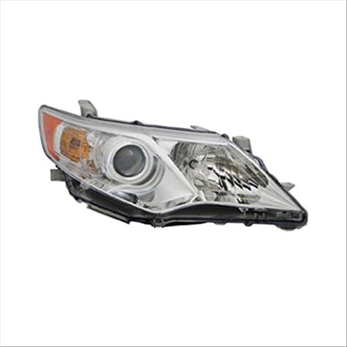 OE Replacement Headlight Assembly TOYOTA CAMRY 2012-2014 Partslink TO2503211 Multiple Manufacturers TO2503211C