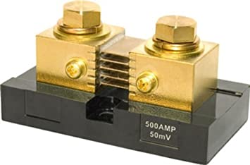 DC AMMETER SHUNT 500 AMP 50 MILLIVOLT