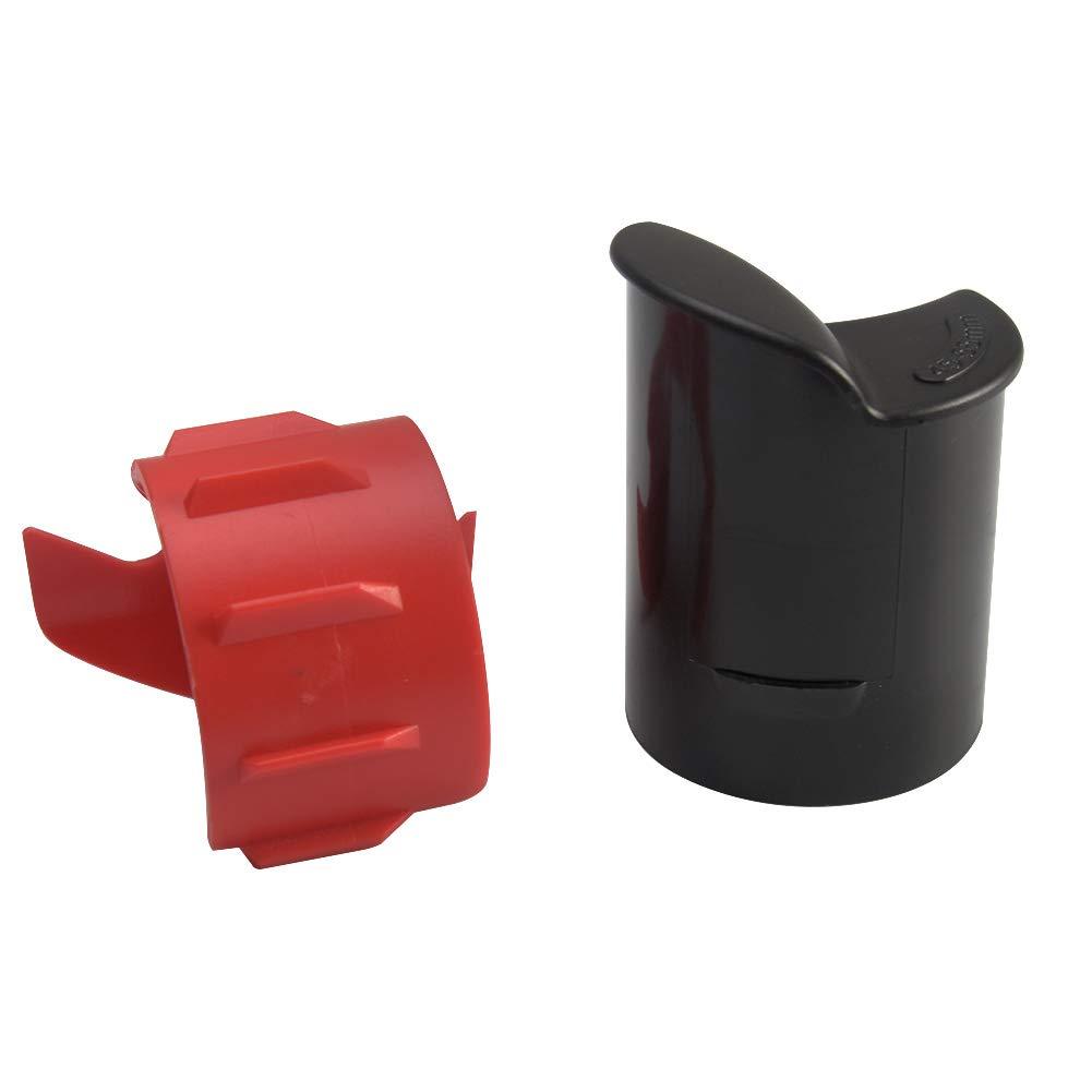 Limpiador horquillas Piezas resistentes al desgaste Accesorios para herramientas absorci/ón motocicletas universales 45 mm a 55 mm Aceite limpio Pl/ástico F/ácil aplicar Reparaci/ón o frontal duradero