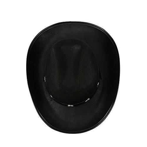 Fun Central Felt Studded Cowboy Hat Party Favor Supplies - Black - http://coolthings.us