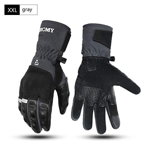 Todaytop Winter Gloves for Men Women Phone Touch Screen Warm Velvet Lined Waterproof Windproof Gloves for Outdoor Cycling Running Driving Motorcycle