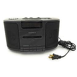Sony Dream Machine Dual Alarm Clock Radio Cassette Tape Player Stereo Icf-cs650