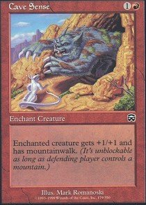 - Magic: the Gathering - Cave Sense - Mercadian Masques - Foil