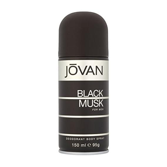 Jovan Black Musk Body Spray for Men, 150ml