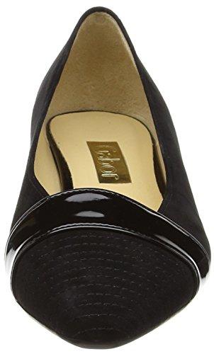 Gabor Exact - Tacones Mujer Negro - Black (Black Suede/Patent HT)