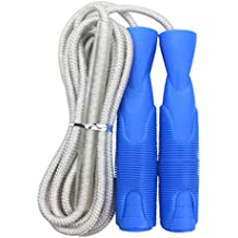 GGDD FIT Speed Jump Rope with Carrying Pouch for Adults - Comfortable Ball-Bearing Handle and Adjustable Rope - Great for Cardio Training, Boxing and MMA Workouts