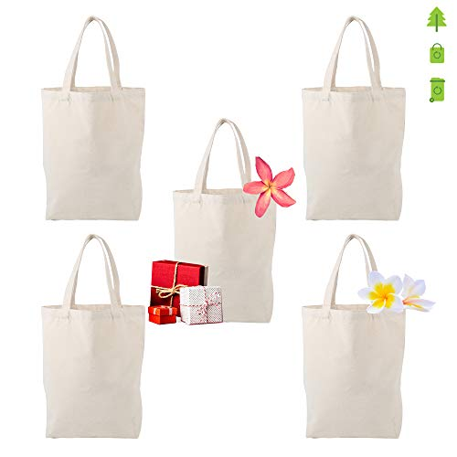 MASMARS Grocery Canvas Bag Tote Heavy Natural X-LARGE 16