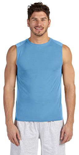 Gildan Performance 4.5 oz. Sleeveless T-Shirt, Carolina Blue, Small