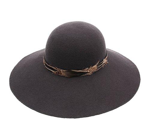 Marzi Women's Garis Wool Felt Cloche Hat Size M by Marzi