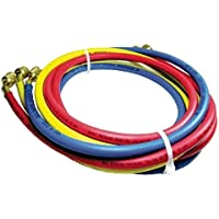 Rheem 40372 Rubber Refrigerant Hose Set, 6 Length, Standard Fittings, 0.25 ID, 0.500 OD