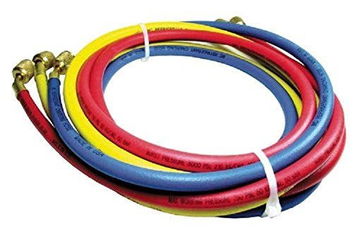 Rheem 40372 Rubber Refrigerant Hose Set, 6' Length, Standard Fittings, 0.25' ID, 0.500' OD 6' Length 0.25 ID 0.500 OD