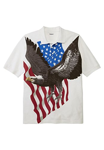 Kingsize Mens Patriotic Eagle Print
