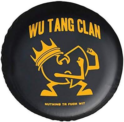 Wu Tang Clan タイヤカバー タイヤ保管カバー 収納 防水 雨よけカバー 普通車・ミニバン用 防塵 保管 保存 日焼け止め 径83cm