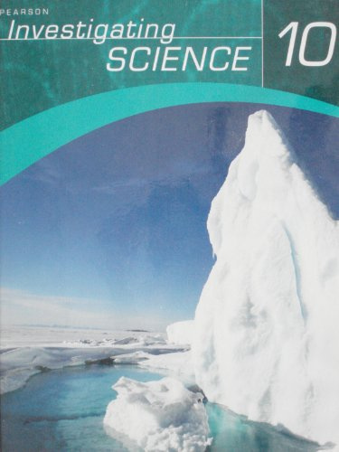 Investigating Science 10 Student Edition
