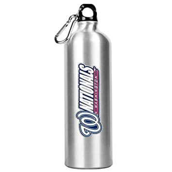 Great American MLB Washington Nacionales, Plata Aluminio Botella ...