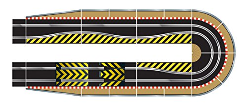 Digital Hair Extension - Scalextric C8514 Track Extension Pack Ultimate 1x Leap (Ramp Up and Ramp Down) Straight 2 Hairpin Curves 2x 1/4 Straight 4 Side Swipes