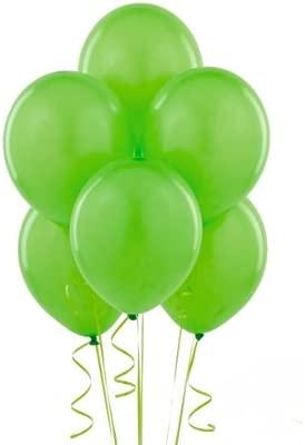 BWS 100 Globos Gigantes Verdes para Cumpleaños y Comunión ...