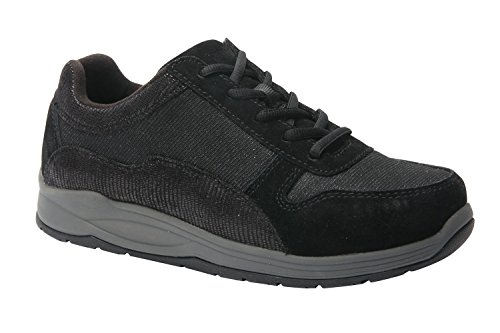Drew Shoe Tuscany Women's Therapeutic Diabetic Extra Depth Shoe: Black/Combo 11 Medium (B) Lace