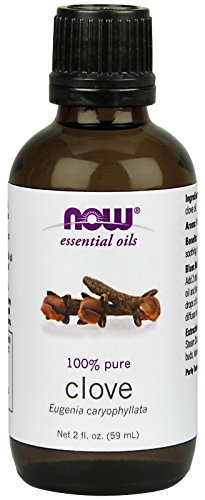 NOW Clove Oil, Pure 100% Essential Oil, 2 ounce