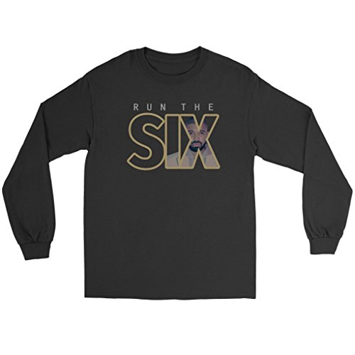 LE6END Drake Six OVO Hip-Hop Long Sleeve ()