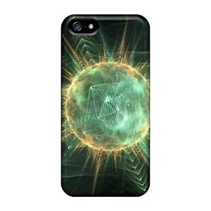 Tpu Case Cover For Iphone 5/5s Strong Protect Case - D Graphics Planetary Genesis Design